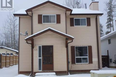 House for sale at 420 Bergeron Dr Tumbler Ridge British Columbia - MLS: 175943