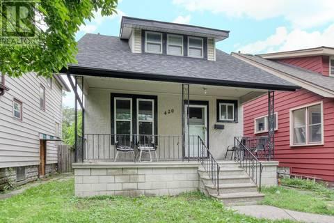 House for sale at 420 Ellis  West Windsor Ontario - MLS: 19020165
