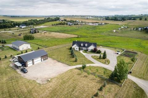 House for sale at 42086 271 Ave West Rural Foothills County Alberta - MLS: C4263114