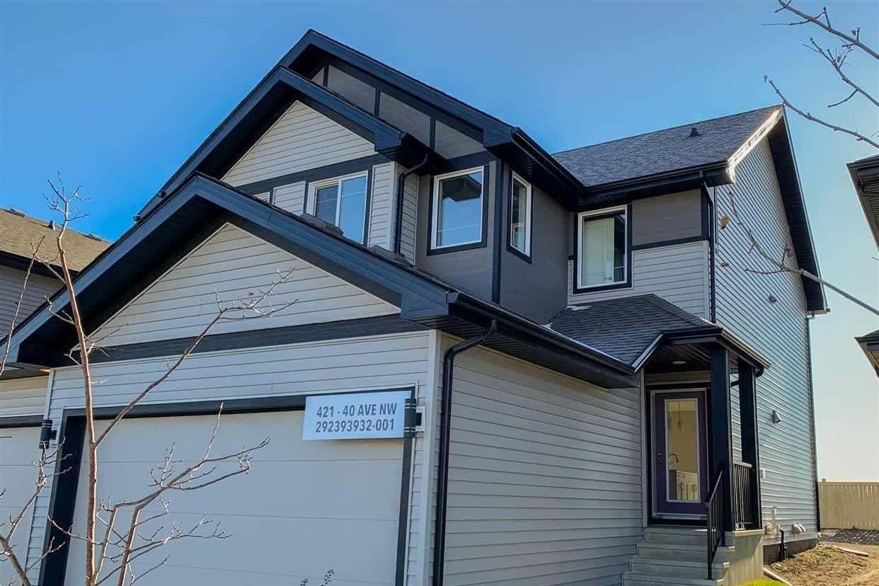 Townhouse for sale at 421 40 Av NW Edmonton Alberta - MLS: E4195411