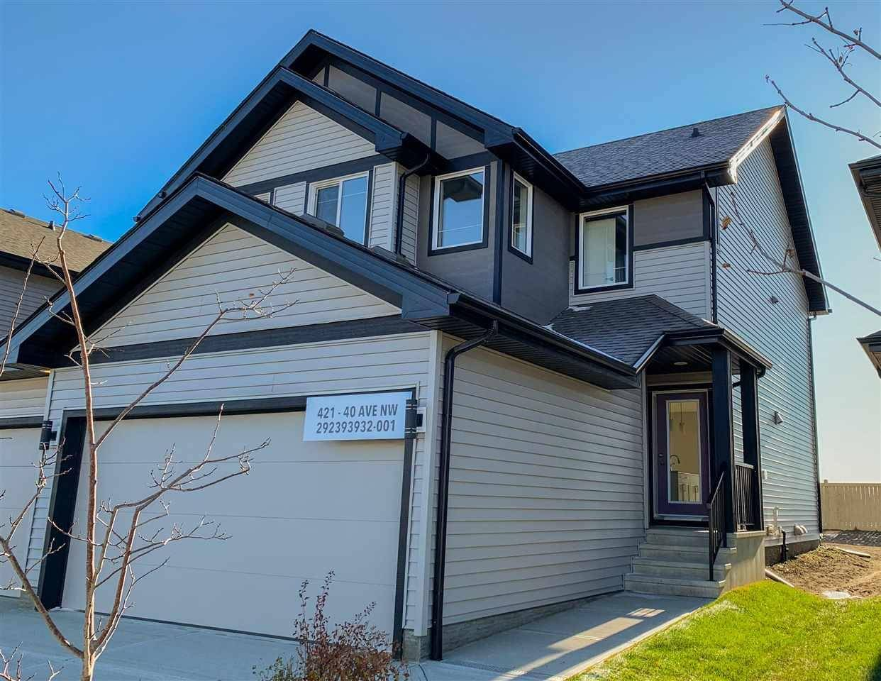 Townhouse for sale at 421 40 Ave Nw Edmonton Alberta - MLS: E4178568