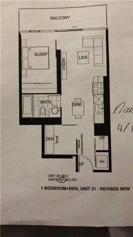 Apartment for rent at 60 Colborne St Unit 421 Toronto Ontario - MLS: C4701535