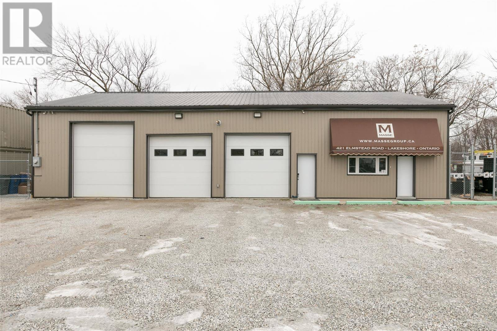 Commercial property for sale at 421 Elmstead  Lakeshore Ontario - MLS: 20001581