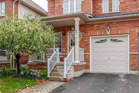 Townhouse for sale at 421 Hobbs Cres Milton Ontario - MLS: W4609670