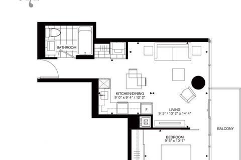 Apartment for rent at 87 Peter St Unit 4212 Toronto Ontario - MLS: C4694610