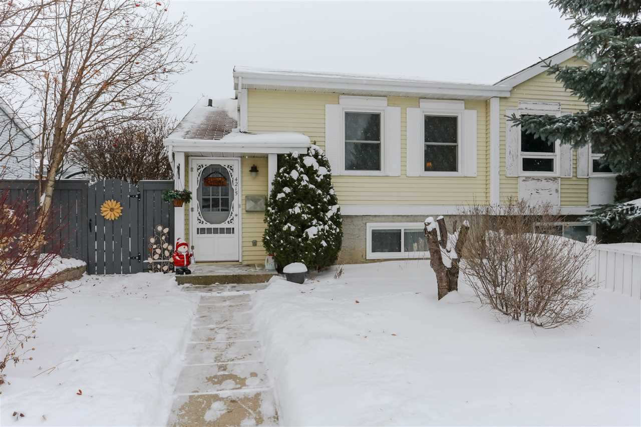 For Sale: 4215 36 Avenue, Edmonton, AB | 3 Bed, 1 Bath Townhouse for $309,990. See 24 photos!