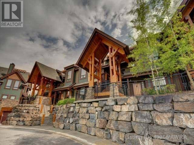 Townhouse for sale at 107 Armstrong Pl Unit 422 Canmore Alberta - MLS: 49966