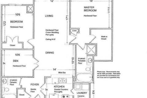 Apartment for rent at 2855 Bloor St Unit 422 Toronto Ontario - MLS: W4691069