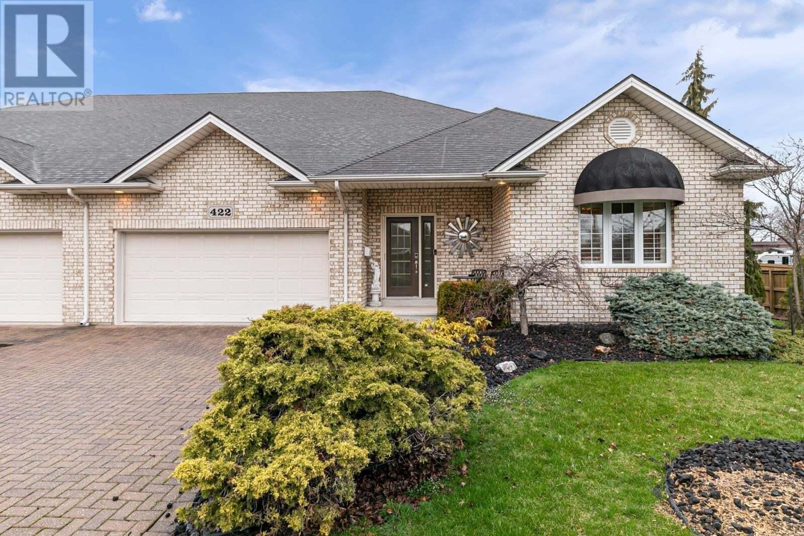 House for sale at 422 Caritas  Tecumseh Ontario - MLS: 20004228
