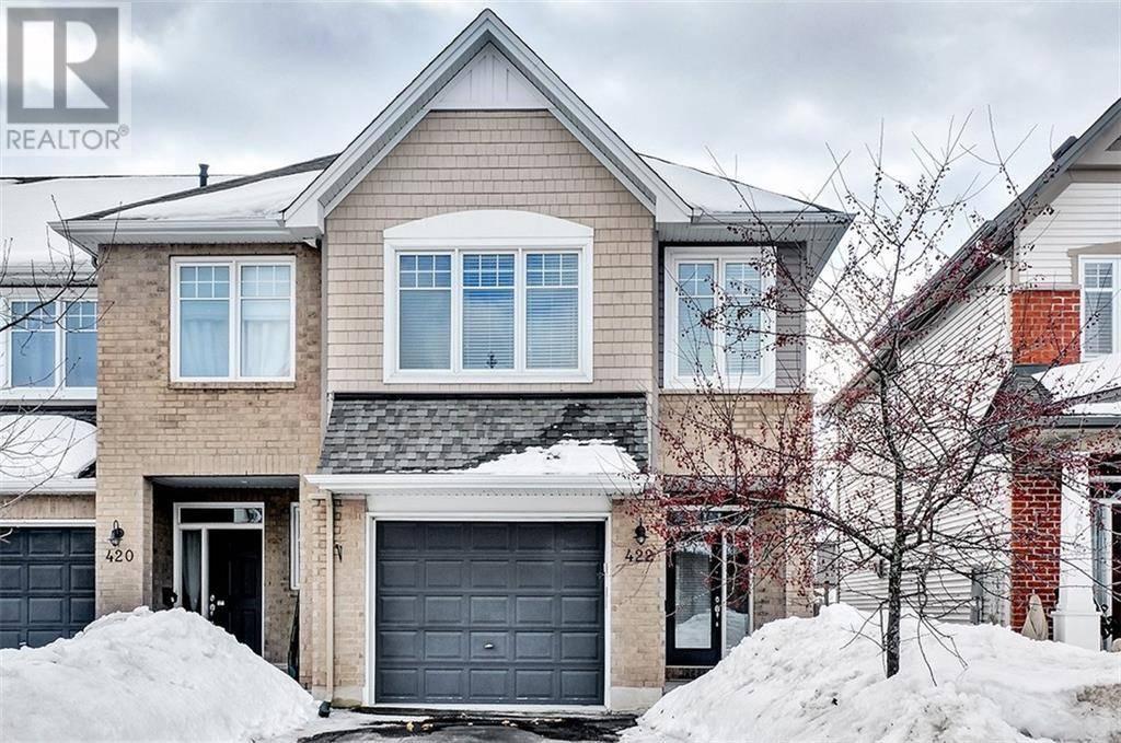 Townhouse for sale at 422 Stalwart Cres Ottawa Ontario - MLS: 1187327