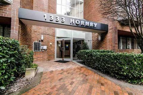 Condo for sale at 1333 Hornby St Unit 423 Vancouver British Columbia - MLS: R2450531