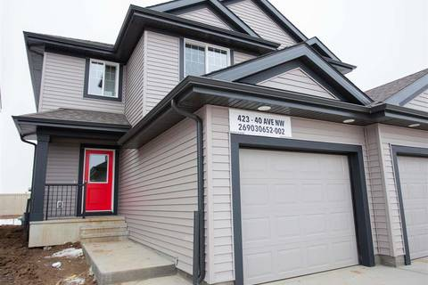 Townhouse for sale at 423 40 Ave Nw Edmonton Alberta - MLS: E4148078