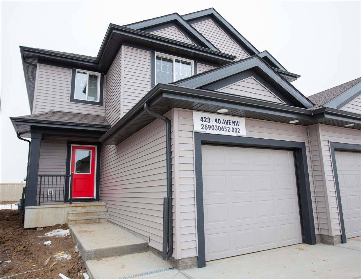 Townhouse for sale at 423 40 Ave Nw Edmonton Alberta - MLS: E4175694
