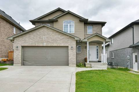 House for sale at 423 Alan Cres Woodstock Ontario - MLS: X4612859