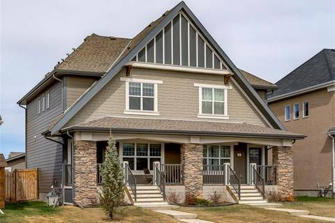 Townhouse for sale at 423 Mahogany Blvd Southeast Calgary Alberta - MLS: C4241258