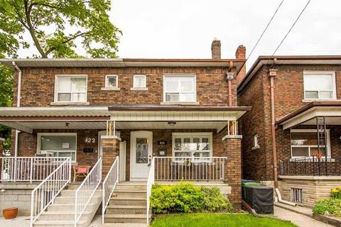 Townhouse for sale at 424 Symington Ave Toronto Ontario - MLS: W4459152