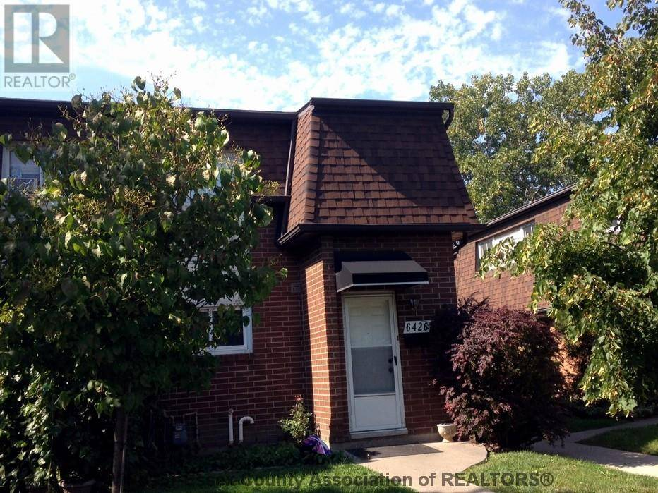 Townhouse for sale at 6426 Thornberry Cres Unit 425 Windsor Ontario - MLS: 20000969
