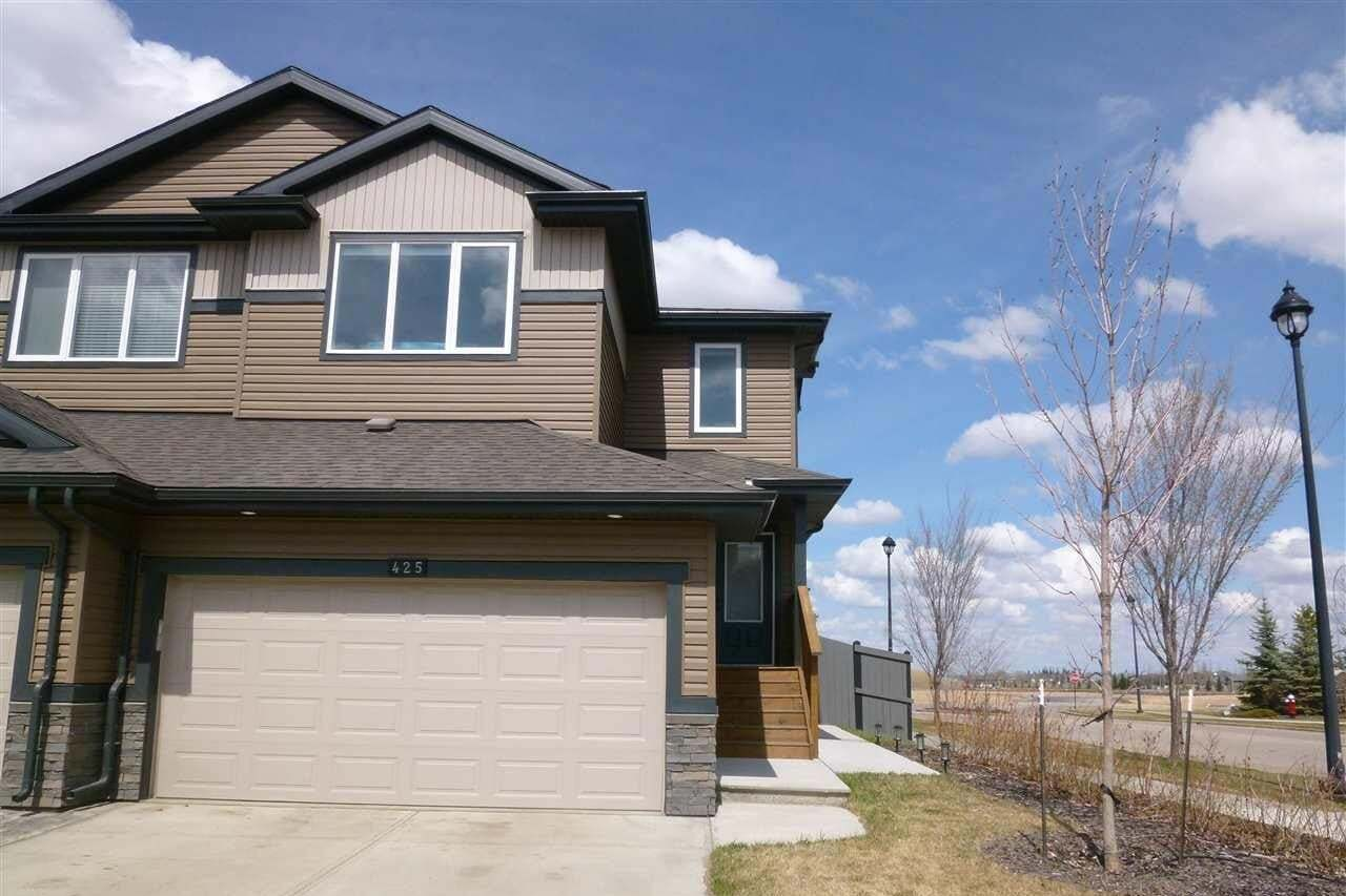 Townhouse for sale at 425 Genesis Co Stony Plain Alberta - MLS: E4196079