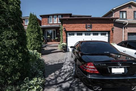 House for sale at 425 Luzon Cres Mississauga Ontario - MLS: W4581258