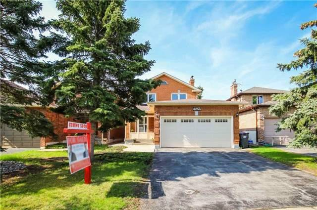 Sold: 4253 Radisson Crescent, Mississauga, ON