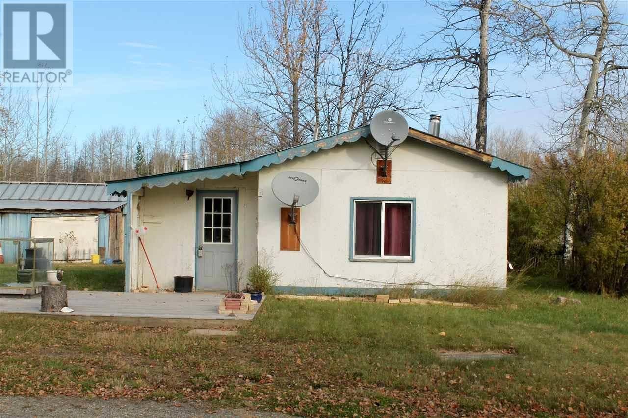 House for sale at 4260 Beryl Prairie Rd Hudsons Hope British Columbia - MLS: R2411066