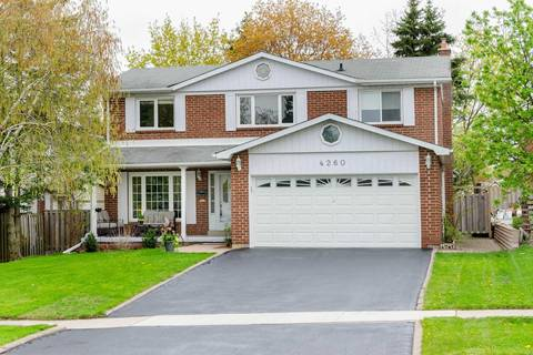 House for sale at 4260 Marblethorne Ct Mississauga Ontario - MLS: W4454546