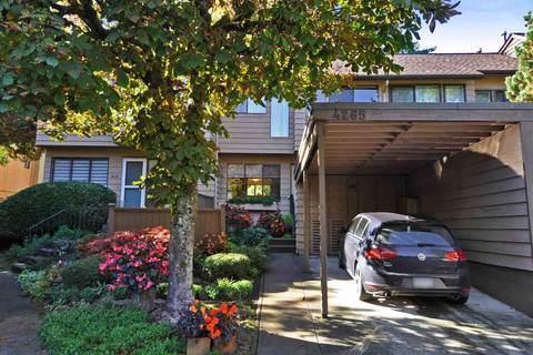 Townhouse for sale at 4265 Birchwood Cres Burnaby British Columbia - MLS: R2314112