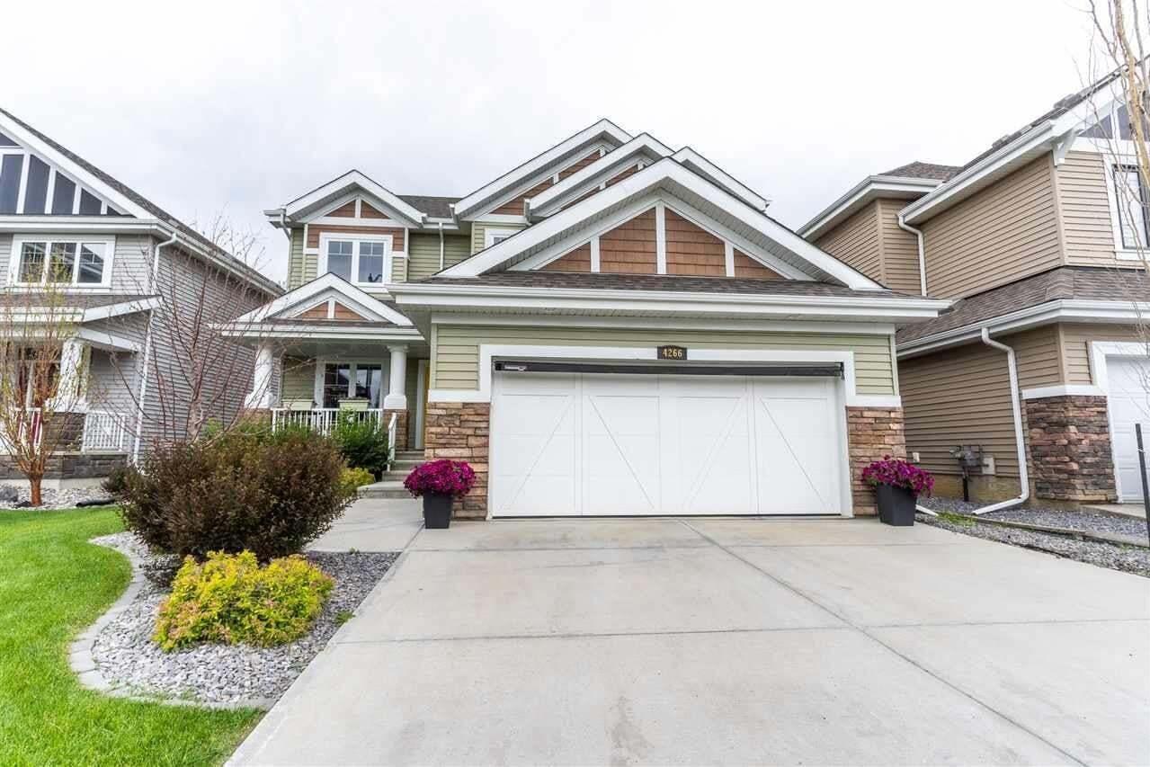House for sale at 4266 Savaryn Dr SW Edmonton Alberta - MLS: E4207677