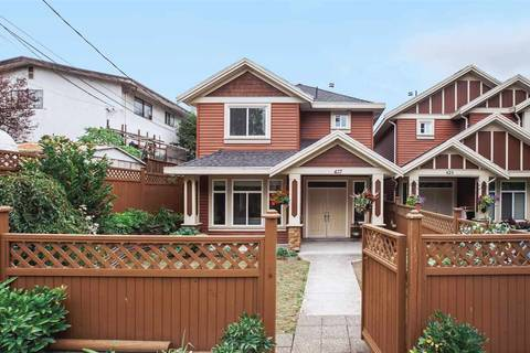 Townhouse for sale at 427 Nelson St Coquitlam British Columbia - MLS: R2421557