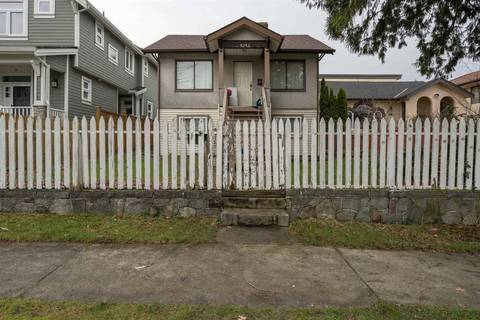 House for sale at 4293 Perry St Vancouver British Columbia - MLS: R2433089
