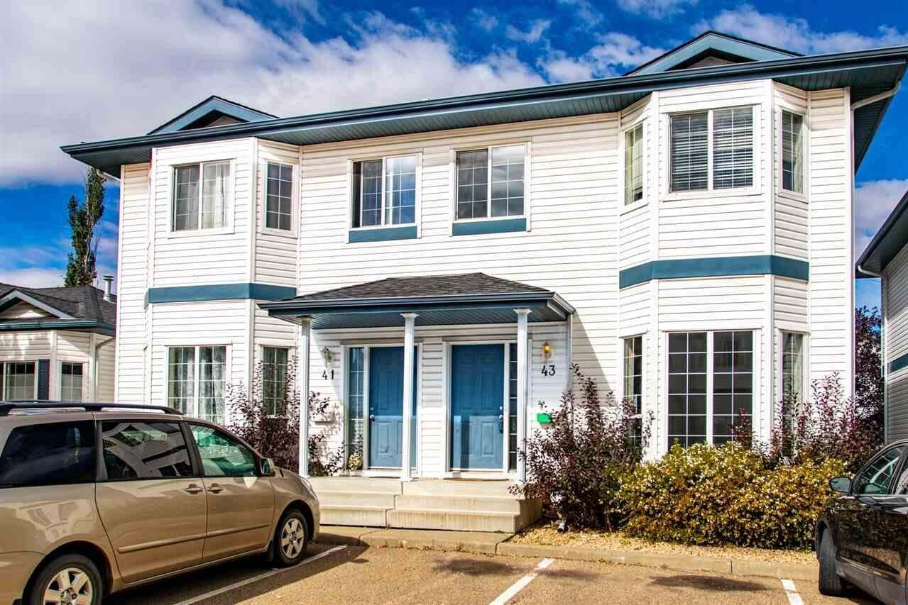 Townhouse for sale at 16728 115 St NW Unit 43 Edmonton Alberta - MLS: E4213476
