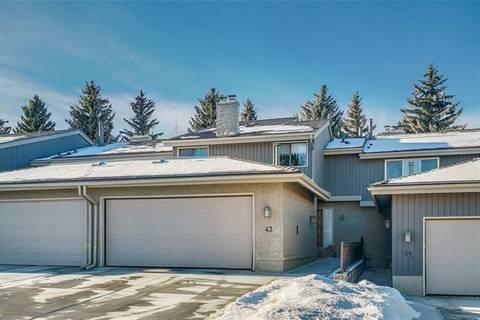 Townhouse for sale at 1901 Varsity Estates Dr Northwest Unit 43 Calgary Alberta - MLS: C4224519