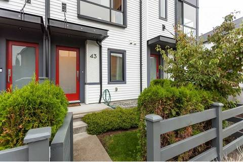 Townhouse for sale at 19159 Watkins Dr Unit 43 Surrey British Columbia - MLS: R2401282