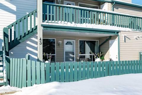 Townhouse for sale at 2703 79 St Nw Unit 43 Edmonton Alberta - MLS: E4146283
