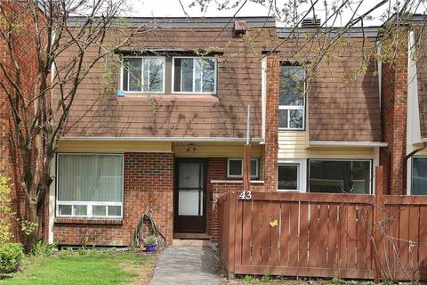 Townhouse for sale at 2939 Fairlea Cres Unit 43 Ottawa Ontario - MLS: 1151882