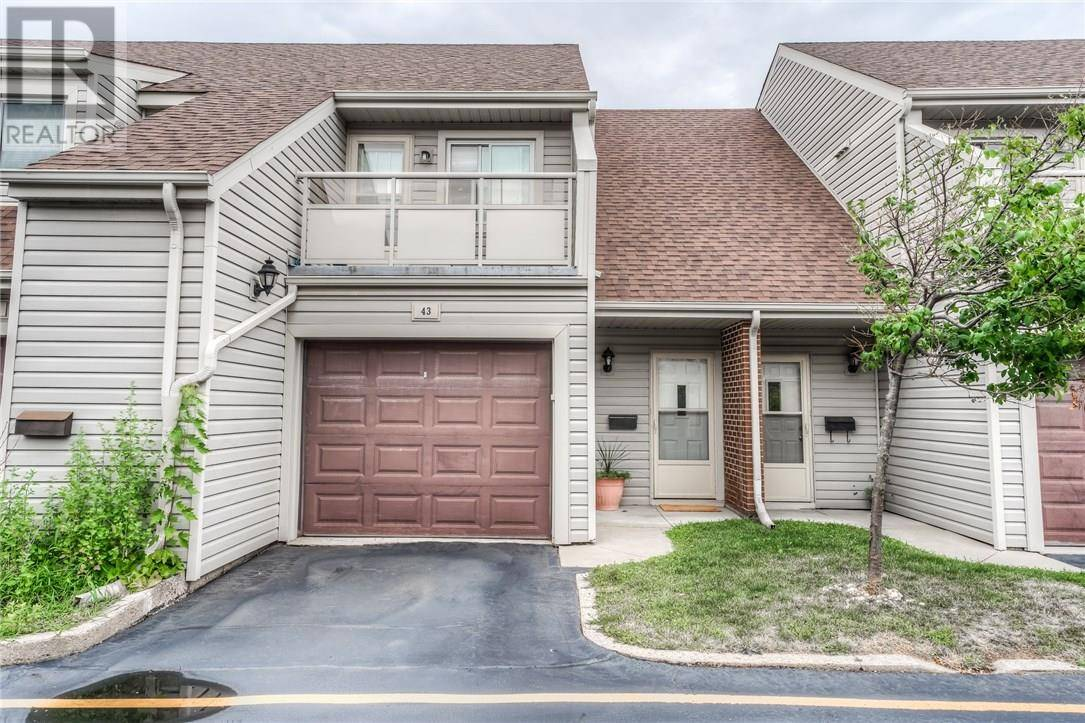 Townhouse for sale at 337 Kingswood Dr Unit 43 Kitchener Ontario - MLS: 30756255