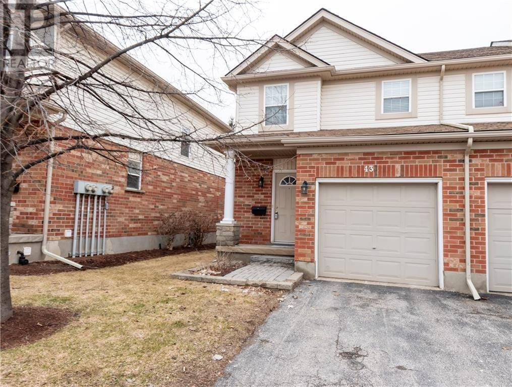 Townhouse for sale at 400 Wilson Ave Unit 43 Kitchener Ontario - MLS: 30798793