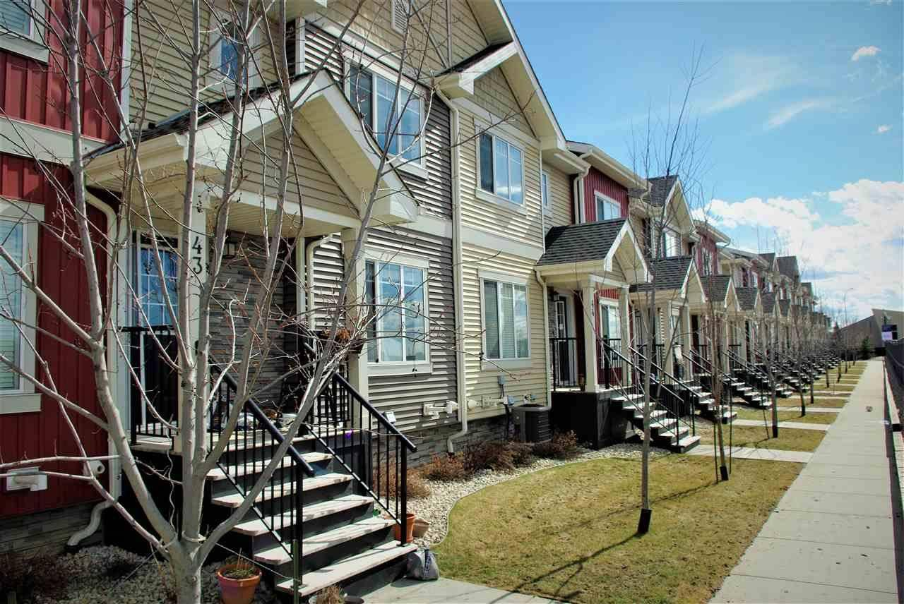 Townhouse for sale at 675 Albany Wy Nw Unit 43 Edmonton Alberta - MLS: E4194900