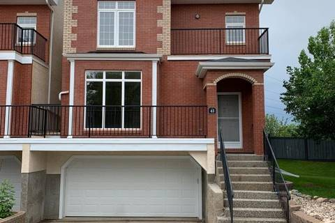 Townhouse for sale at 8403 164 Ave Nw Unit 43 Edmonton Alberta - MLS: E4162181