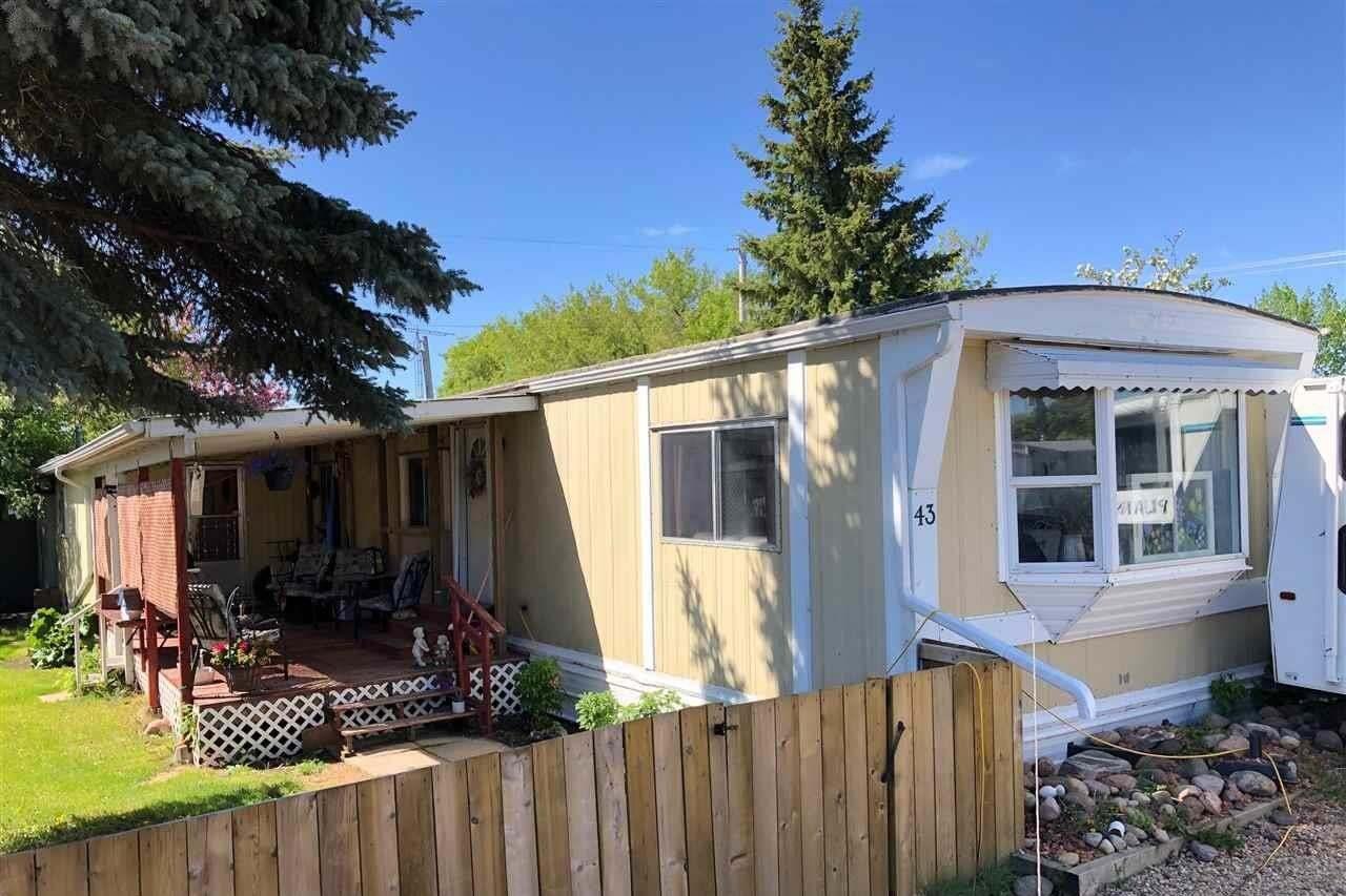 Home for sale at 9501 104 Av Unit 43 Westlock Alberta - MLS: E4199701