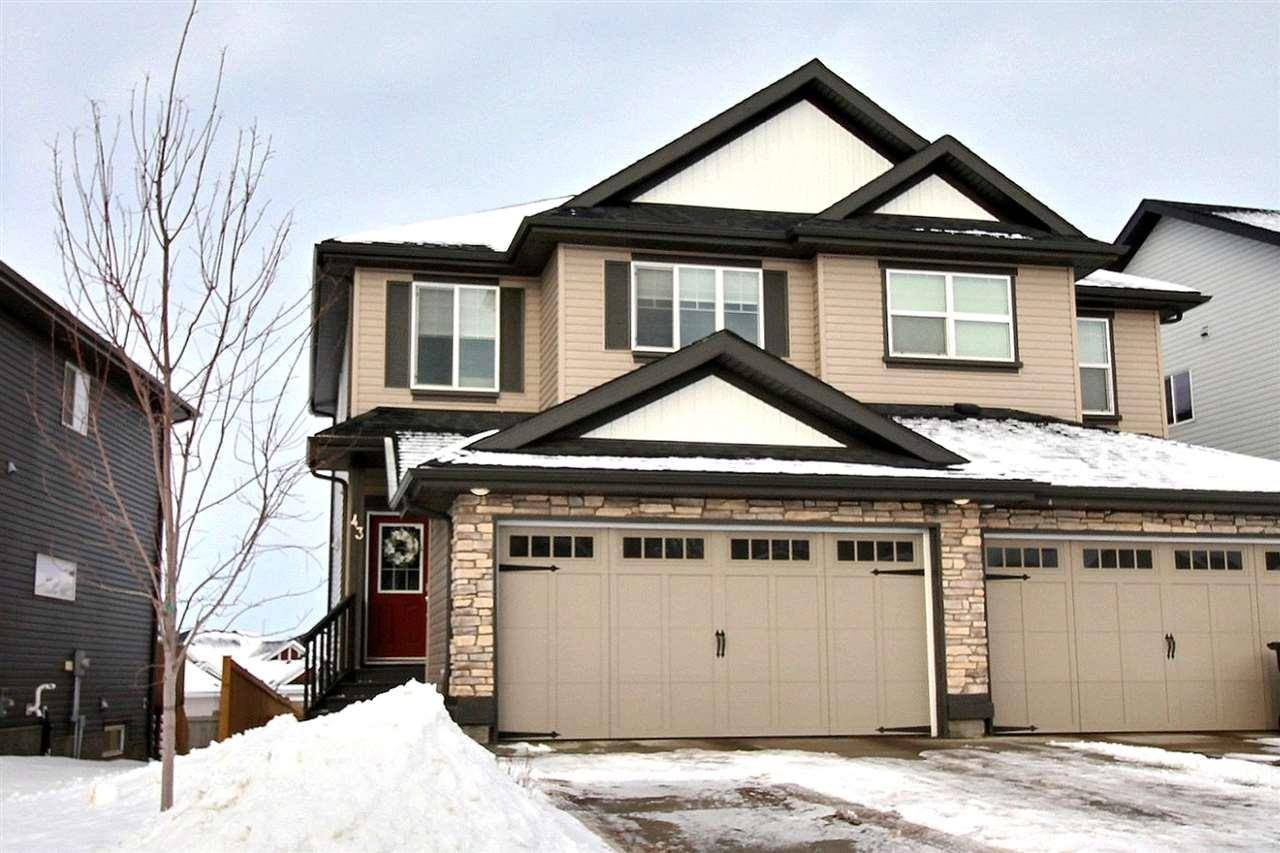 Townhouse for sale at 43 Avebury Ct Sherwood Park Alberta - MLS: E4186761