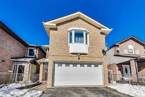 House for sale at 43 Blue Lagoon Ct Toronto Ontario - MLS: E4691418
