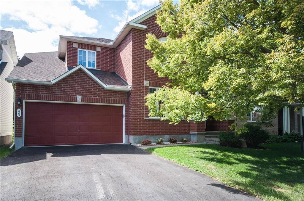 House for sale at 43 Brechin Cres Kanata Ontario - MLS: 1169304