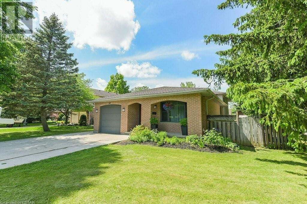 House for sale at 43 Bybrook Ct London Ontario - MLS: 262380