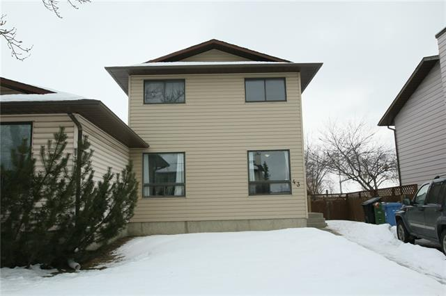 For Sale: 43 Castleglen Road Northeast, Calgary, AB | 4 Bed, 2 Bath Townhouse for $267,500. See 41 photos!