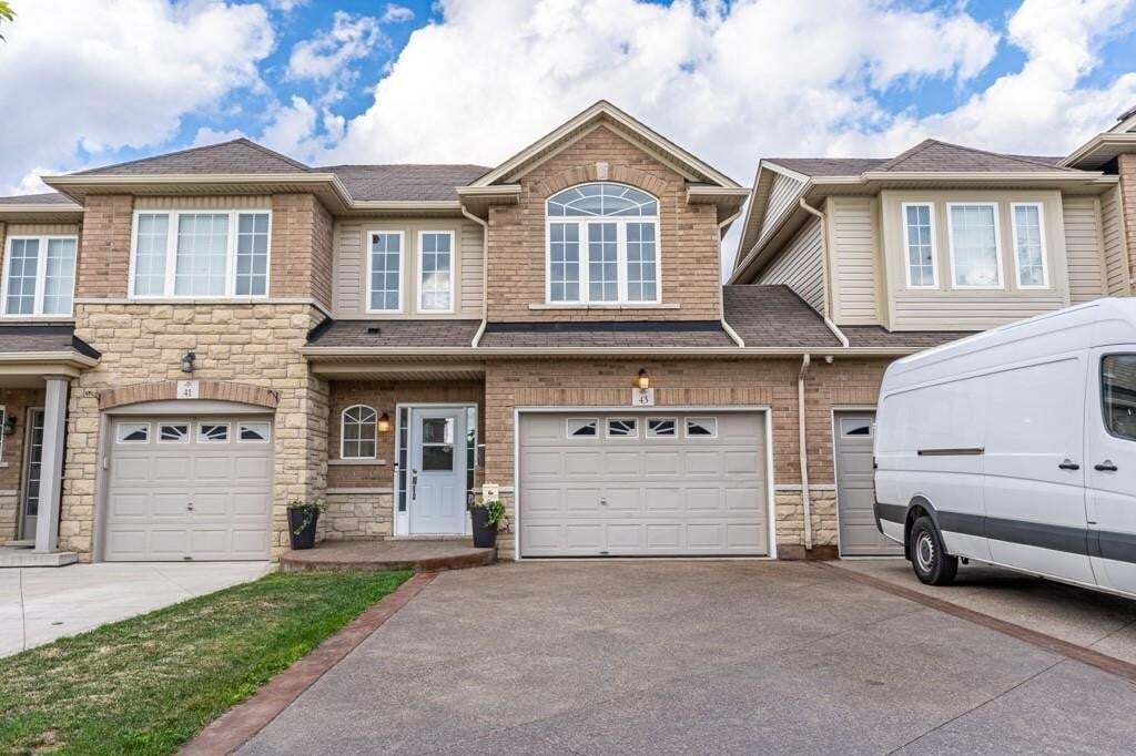 Townhouse for sale at 43 Cedarville Dr Stoney Creek Ontario - MLS: H4087096
