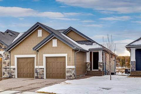 Townhouse for sale at 43 Clear Creek Pl Rural Rocky View County Alberta - MLS: C4223782