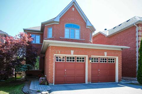 House for sale at 43 Desert View Cres Richmond Hill Ontario - MLS: N4549745