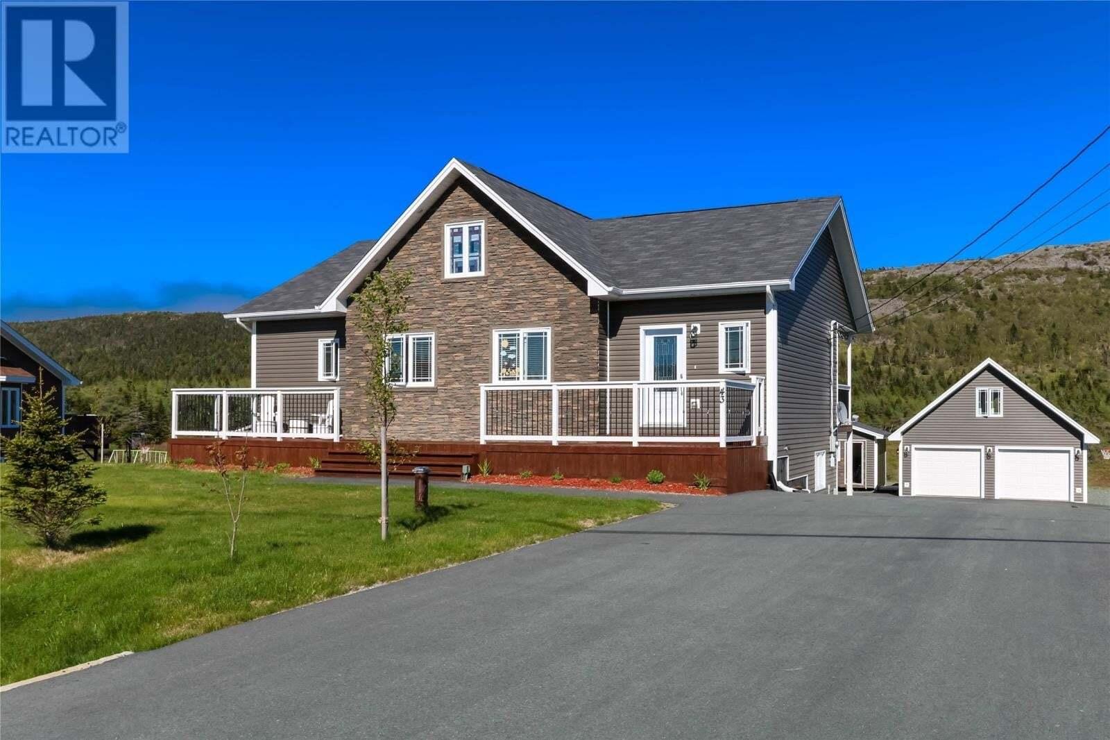 House for sale at 43 Dunn Dr Bay Bulls Newfoundland - MLS: 1216311