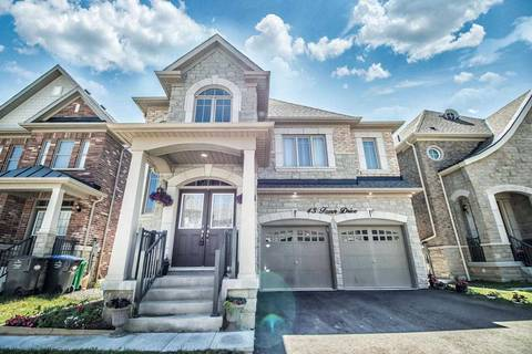 House for sale at 43 Fann Dr Brampton Ontario - MLS: W4518010